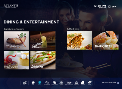 405x296 px Ilumio Dining & entertainment